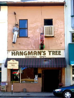 Hangman's Tree Historic Spot
